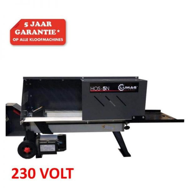 Lumag, houtkloofmachine, hos5n (1)