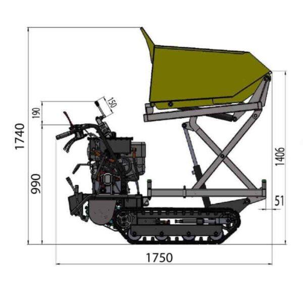 Lumag, hydr, rupsdumper, md500hproht (4)